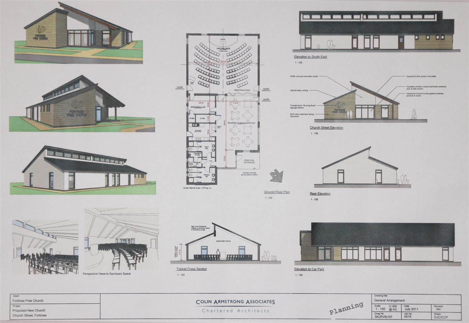 New build appeal fortrosefreechurchofscotland for New building design plan